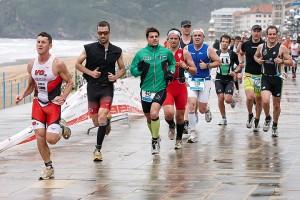 Triatlon de Zarautz 2013. Carrera a pié