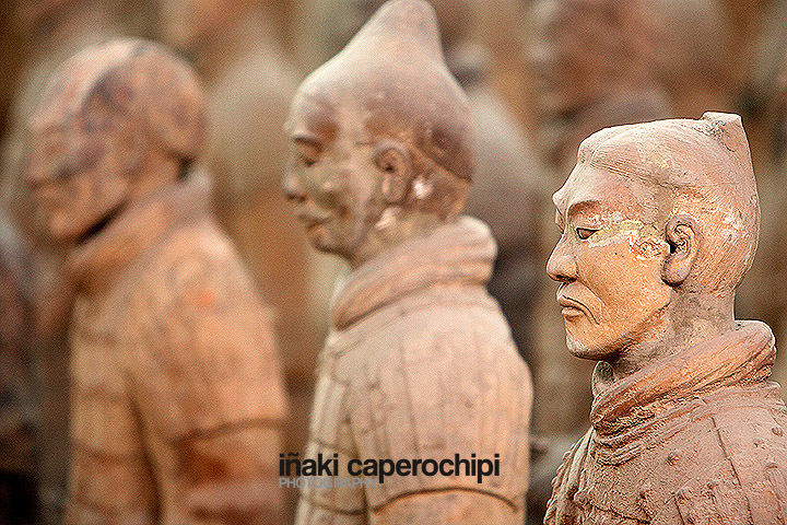 Guerreros de Terracota. Xian. China