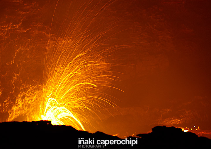 Calendario, Crater del volcán Erta Ale