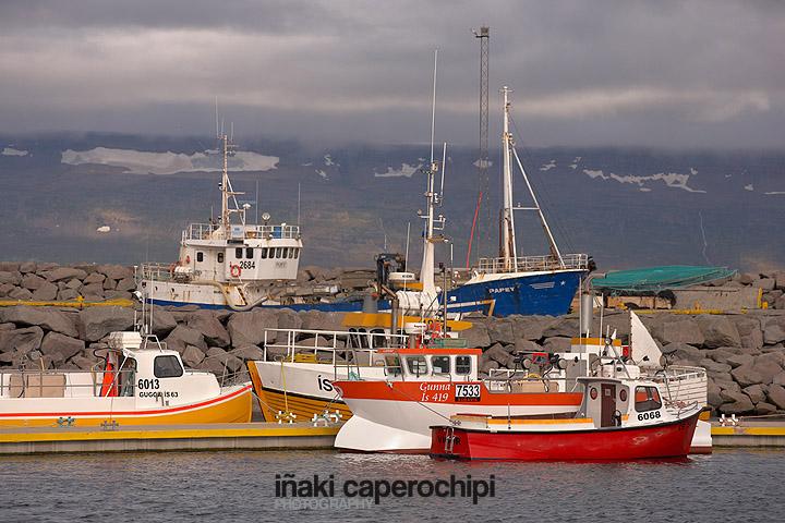 Puerto pesquero de Sudavik