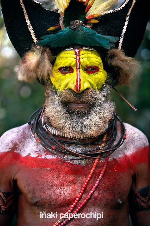 Tribu Huli en el Sing Sing de Paiakona
