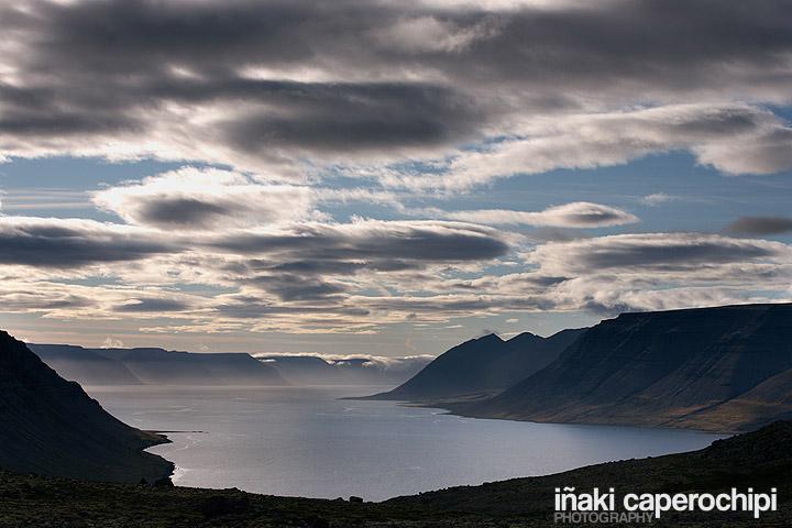 Acantilados en Arnarfjordur