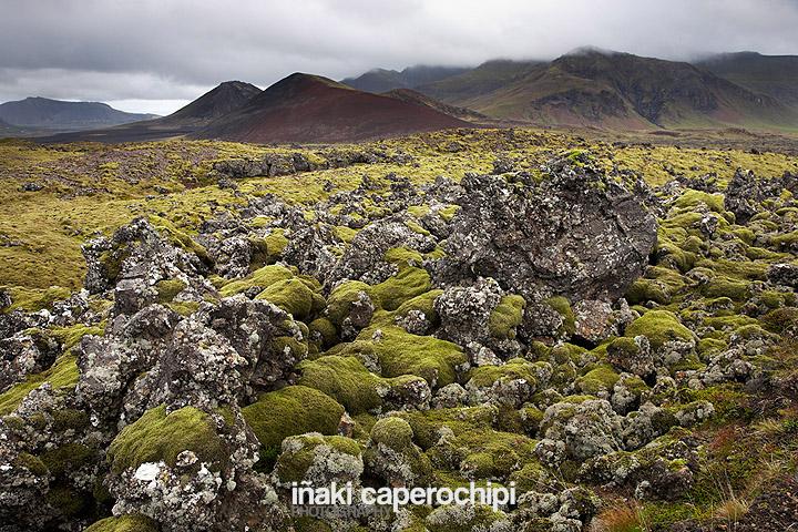 Campo de lava de Benserkjahraun