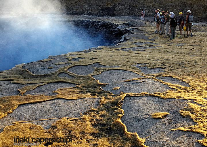 Crater del volcán Erta Ale en mi calendario