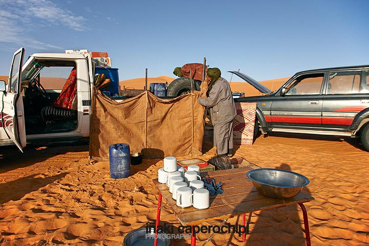 Campamento en los alrededores del Lago Mandara