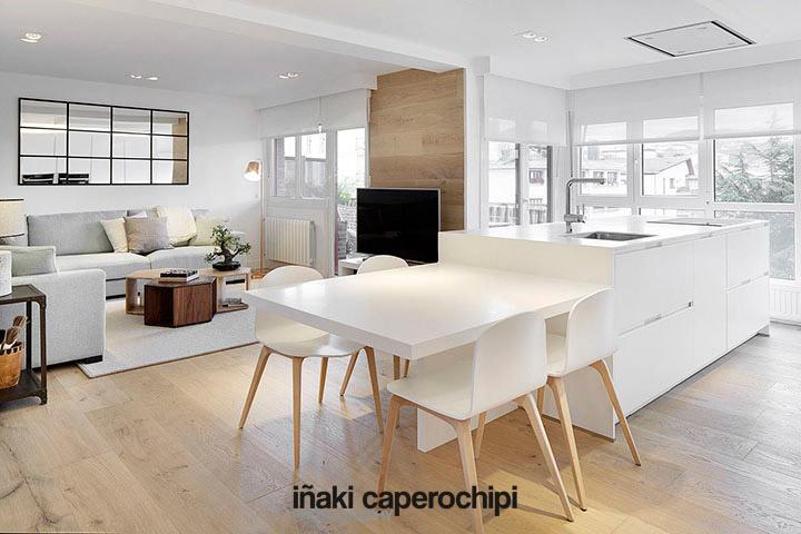 Reforma de una vivienda en zarautz por echave decoracion - Inigo echave decoracion ...