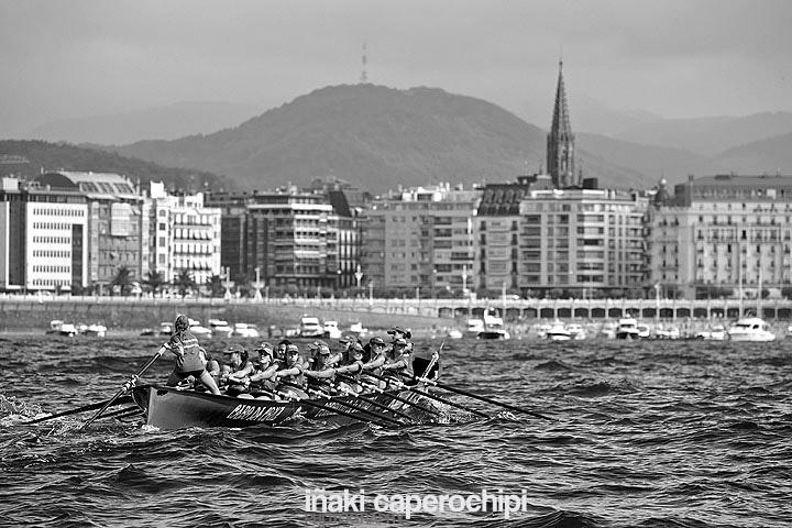 Regata clasificatoria de La Concha 2014, San Sebastián