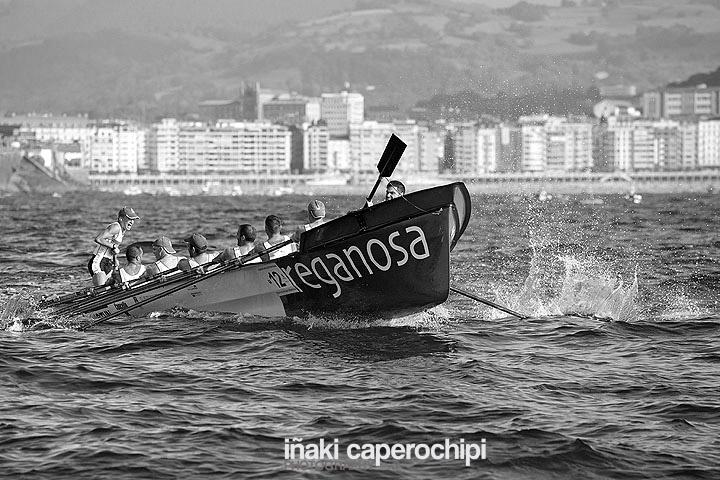 Regata clasificatoria de La Concha 2014