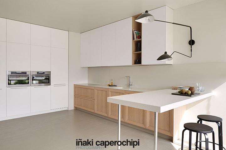Mobiliario de cocina de la serie SoHo de Dica