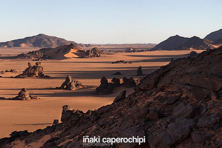 Parque Nacional de Acacus, desierto