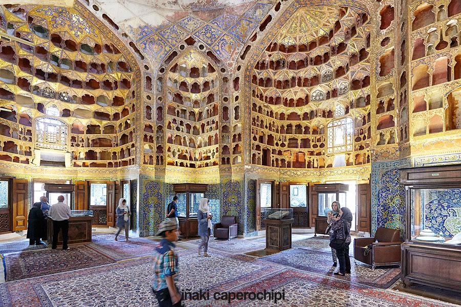 Interior del Mausoleo del Sheikh Safi Al Din