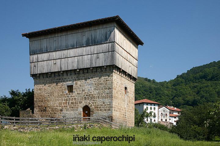 Casa torre Jauregia. Donamarí