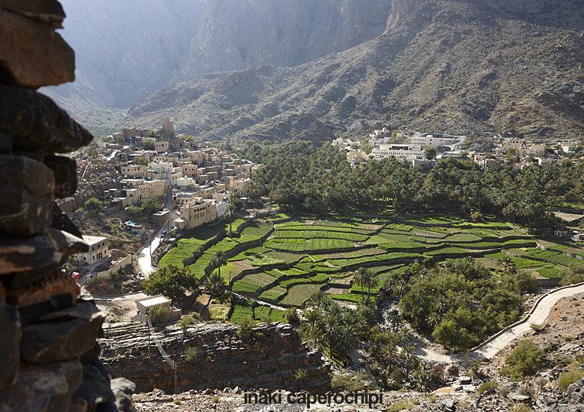 El pueblo de Bilad Sayt