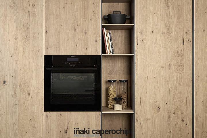 Mobiliario de cocina de Dica, serie S45 en Roble Rústico
