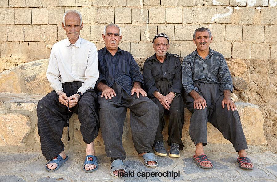 Visita a Sanjud, Irán