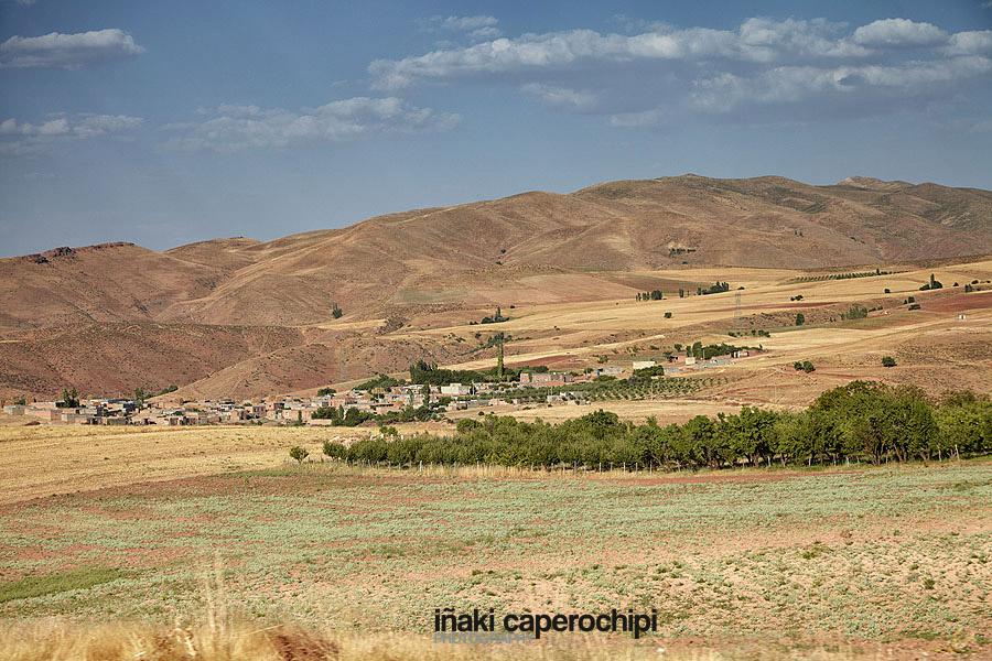 Paisajes del kurdistan irani