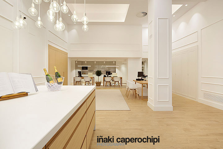 Amenabar, Showrrom Bilbao, mobiliario