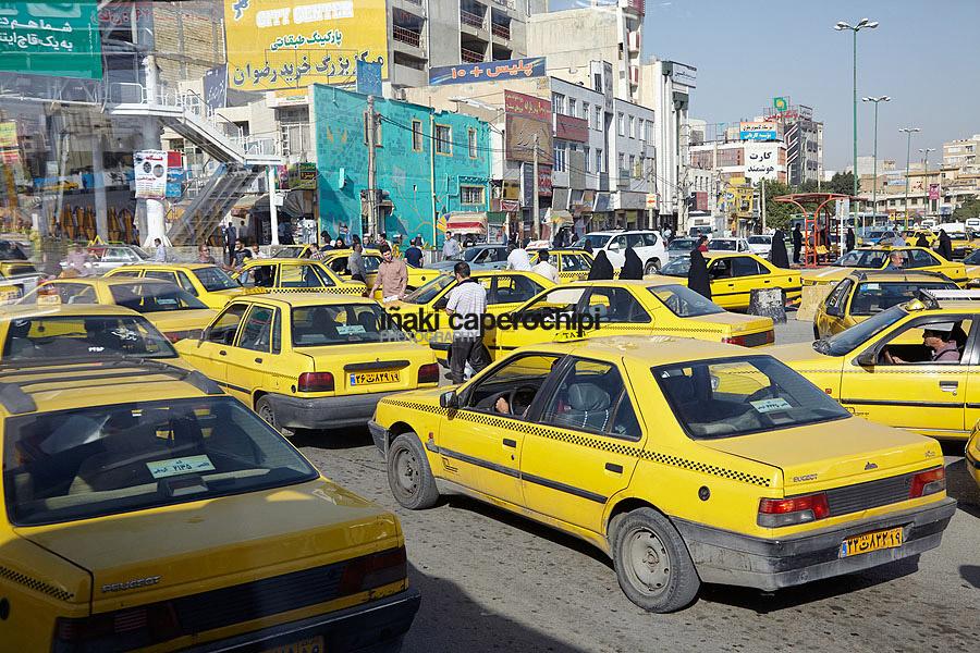 Trafico en Kermanshah