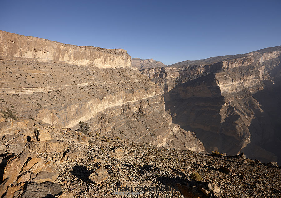 Trek por el Wadi Nakhr