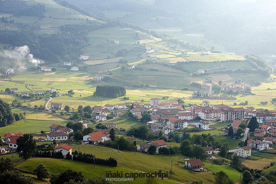 Panoramica de Berastegi