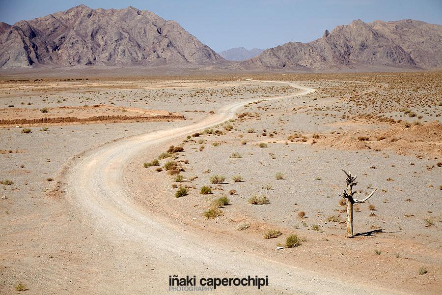 Alrededores del Zein O Din Caravanserai