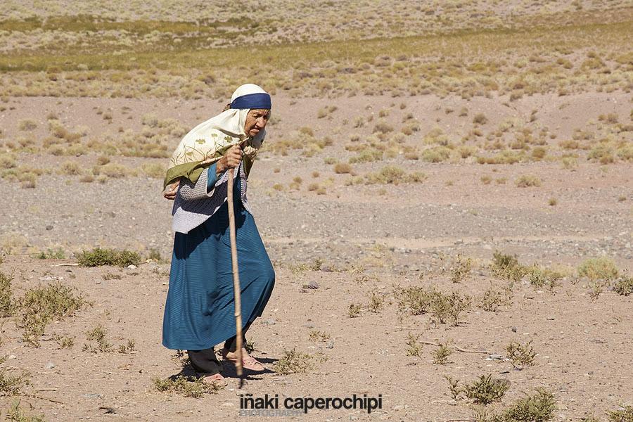 Tribus nomadas en la ruta Kerman a Shiraz