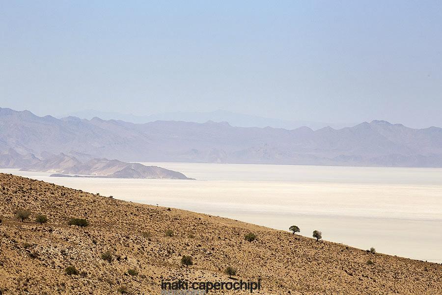 Paisajes en ruta Kerman a Shiraz